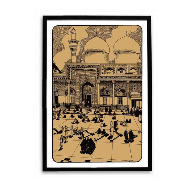 Poster - The Mecca Mosque