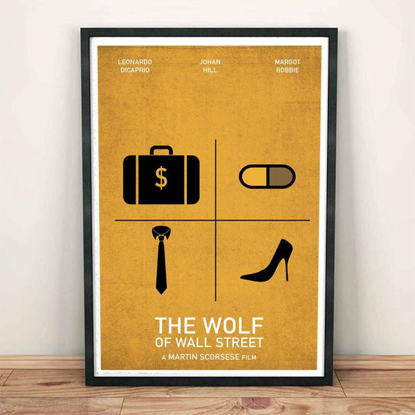 Poster - The Wolf Of Wall Street - Skylit Designs