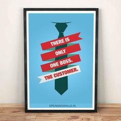 Poster - There Is Only One Boss : Customer