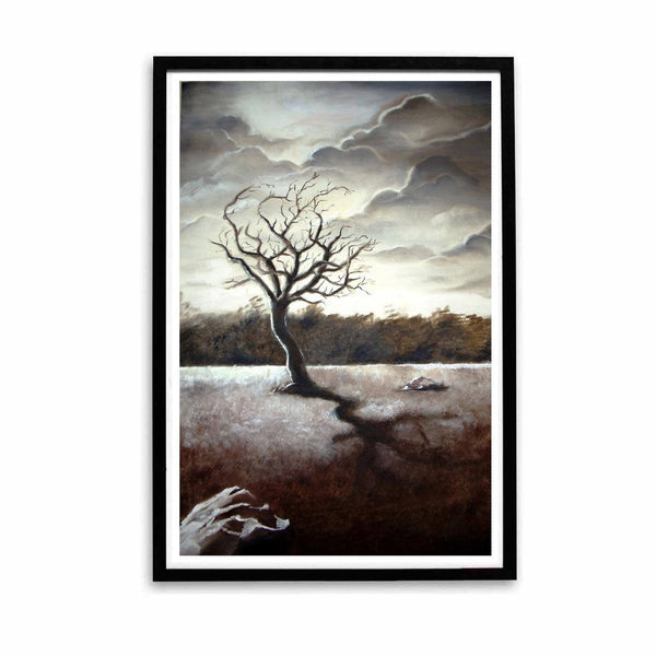 Poster - Weathered Tree