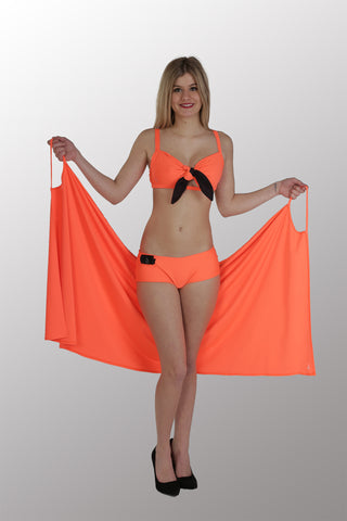 BEACH DRESS - ORANGE
