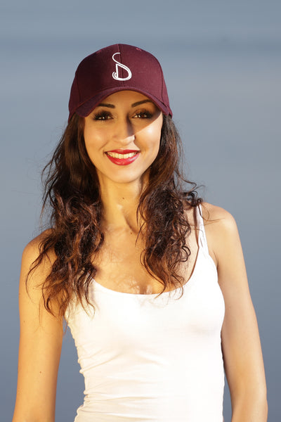 CAP WOMAN BURGUNDY