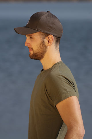 GRAY MAN CAP ANTHRACITE - MADE IN FRANCE