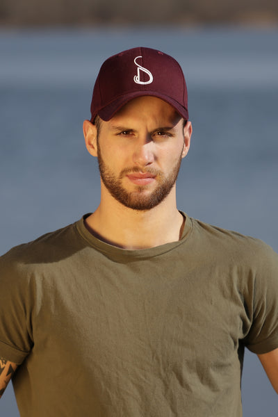 BURGUNDY CAP MAN - MADE IN FRANCE
