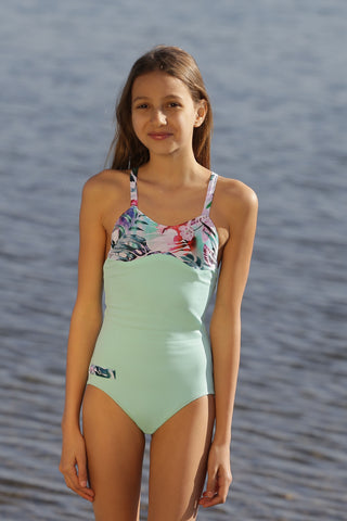 NEVIANO GIRL 00115 VERT D'EAU - MADE IN FRANCE - WITH INTEGRATED UV SENSOR