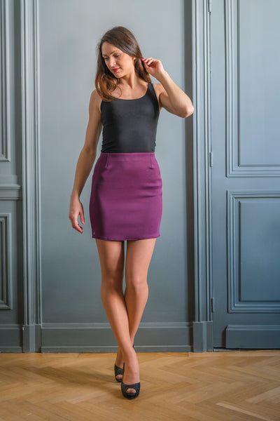 PURPLE ALTONA SKIRT