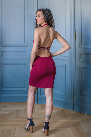 BAY RIDGE DRESS - MADE IN FRANCE -  WITH INTEGRATED SENSOR