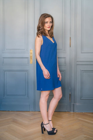BLUE RIDGE DRESS - MADE IN FRANCE -  WITH INTEGRATED SENSOR