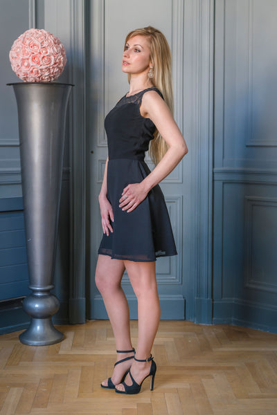 ROSE HILL DRESS - MADE IN FRANCE -  WITH INTEGRATED SENSOR