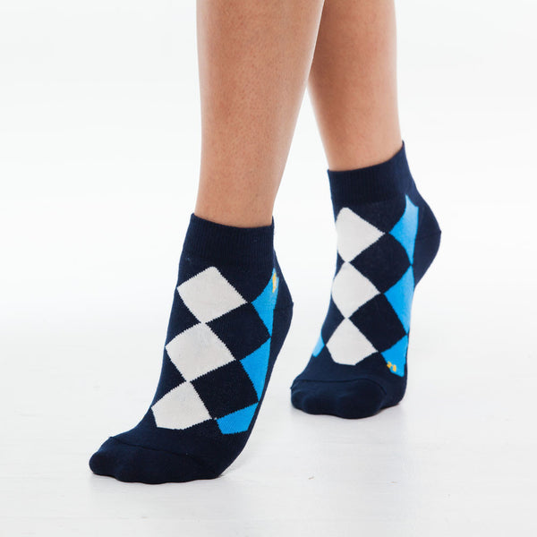 Argyle Casual Blue
