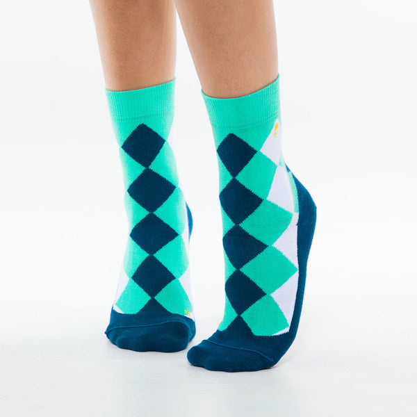 Argyle Casual Green