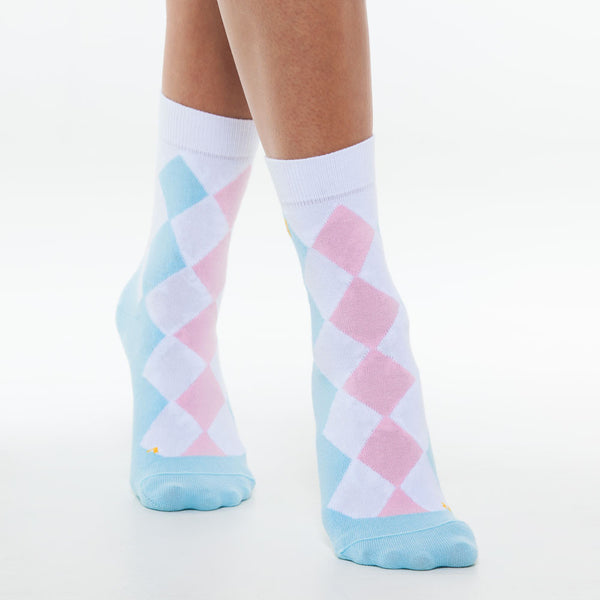 Argyle Casual Bright