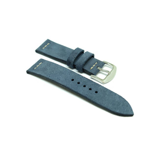 Suede Blue Watch Strap #05