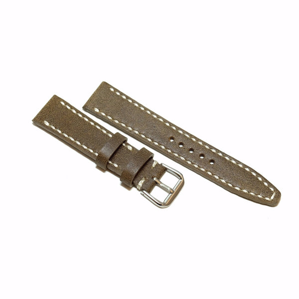 Vintage Mocha Brown Watch Strap #02