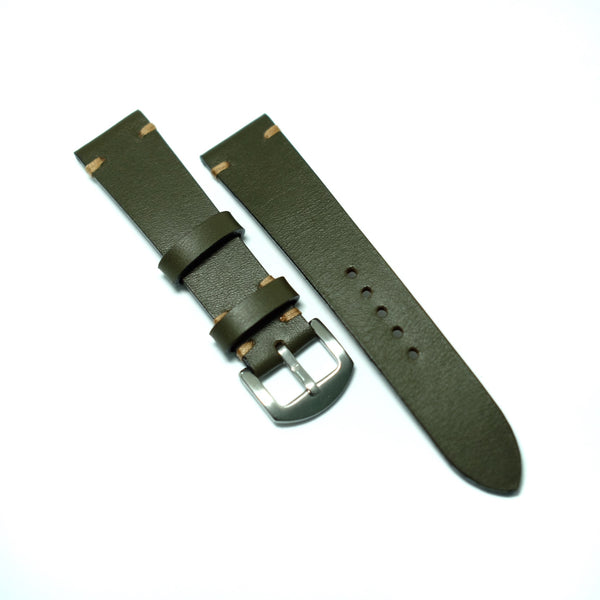 Olive Green Watch Strap #01
