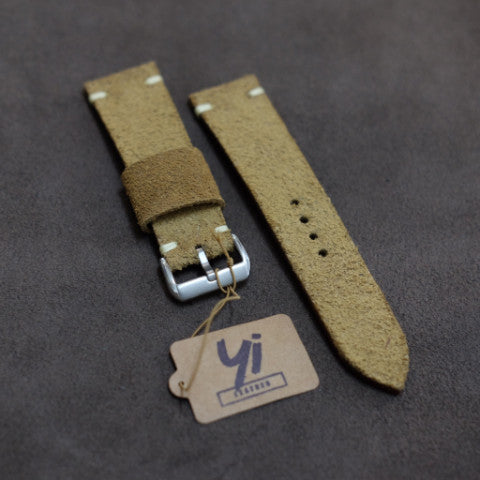 Suede Sand Watch Strap #01