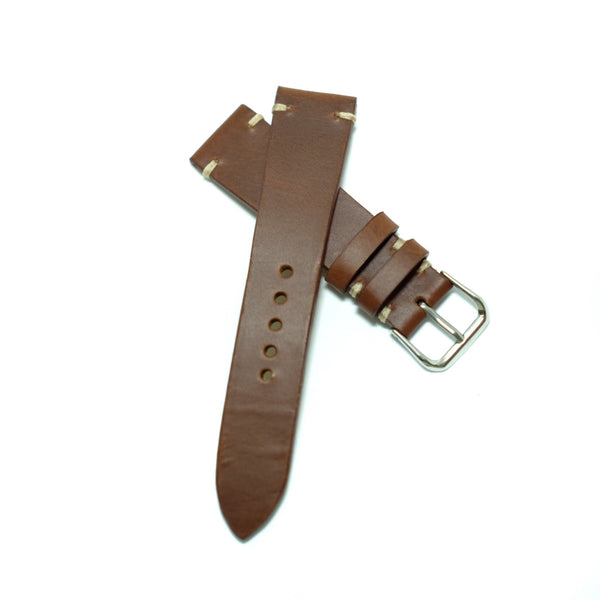 Pull Up Brown Watch Strap #01
