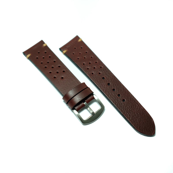 Pull Up Burgundy Watch Strap #06