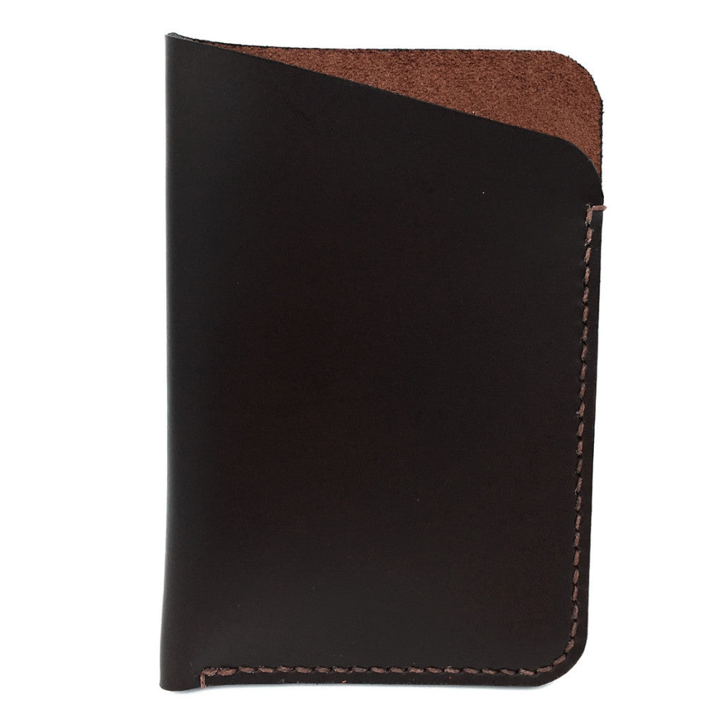 Cardholder - Oiled Dark Brown