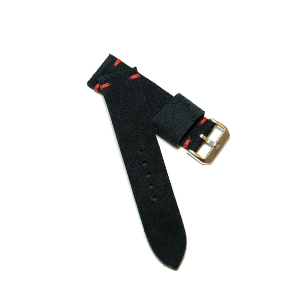 Suede Black Watch Strap #01