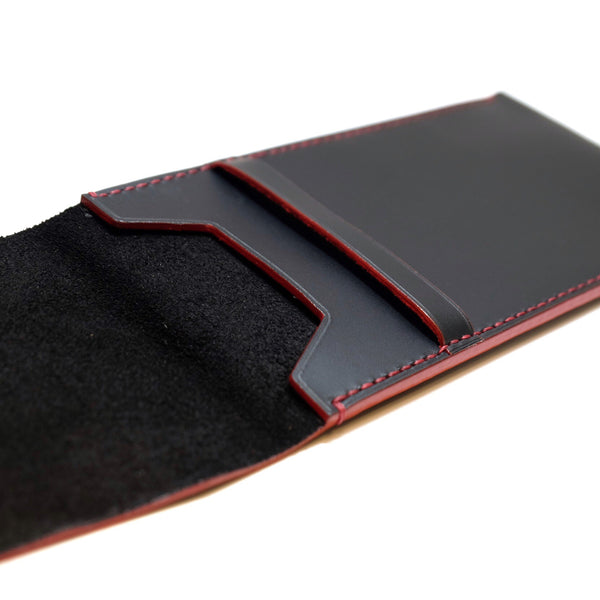 Watch Pouch - Black/Red