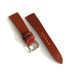 Italian Brown Watch Strap #01