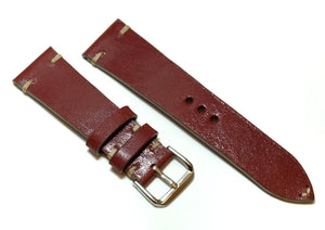 Dark Red Watch Strap #01
