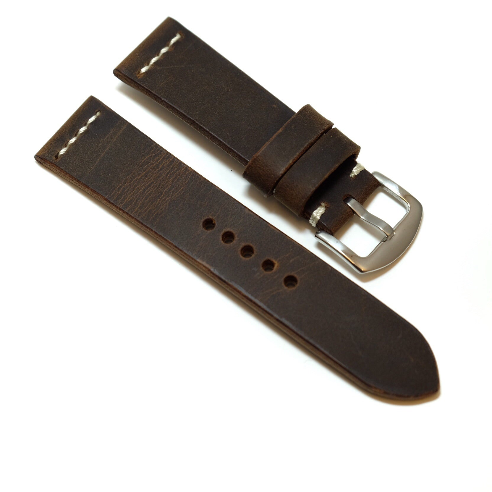 Vintage Dark Brown Watch Strap #05