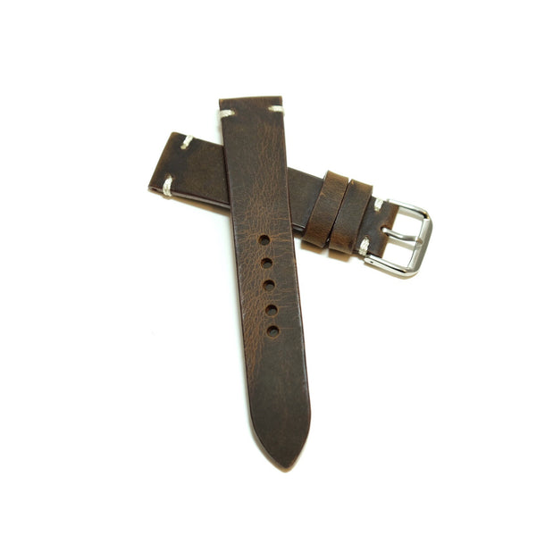 Vintage Dark Brown Watch Strap #01