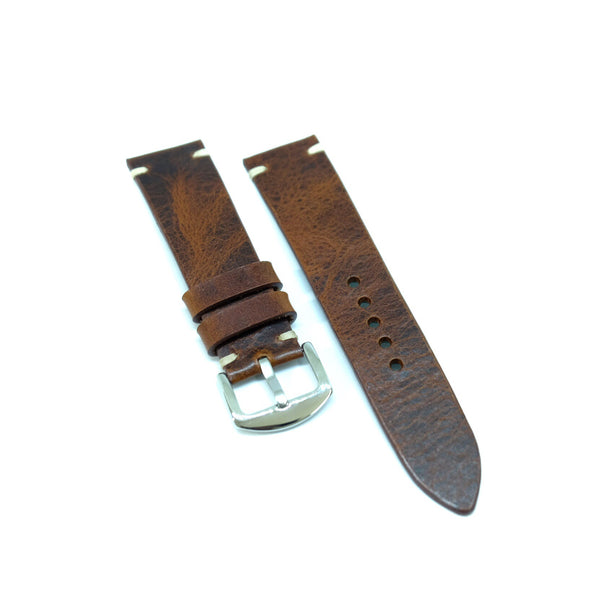 Light Brown Distressed Watch Strap #01
