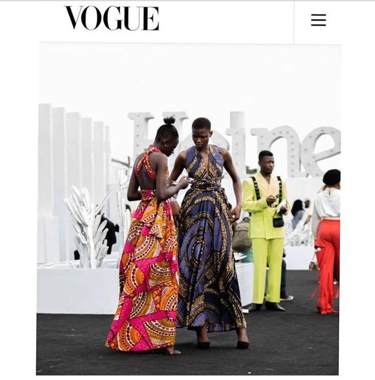 Afrodesiac Worldwide on Vogue.com from Heineken Lagos Fashion Week