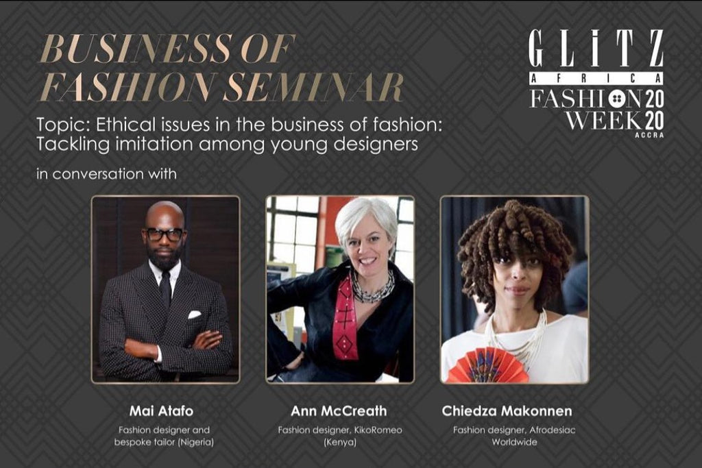 Glitz Africa - Business of Fashion Seminar - 2020