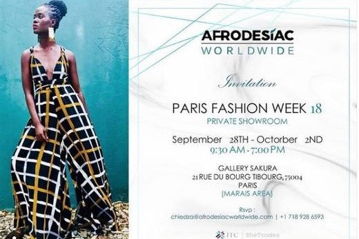 Afrodesiac Worldwide @ Paris Fashion Week