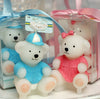 CLEARANCE: Baby Shower Candles Set - Cute Blue Bear