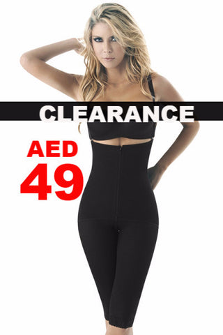 Clearance - Body Shaper - Black Waist Slimming Lift-Up Pants