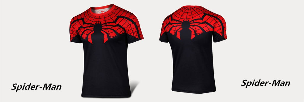 CLEARANCE: Spiderman Black and Red t-shirt