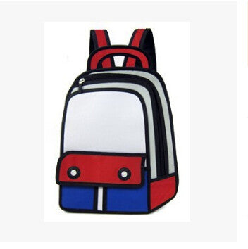 CLEARANCE: 3D oxford canvas backpack