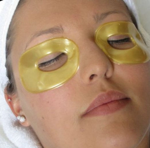 CLEARANCE: Collagen 24K Gold Eye Mask Patches - Anti-Aging + Reduces Wrinkles, Dark Circles, Bags, Pouches, Puffiness, Black Eyes