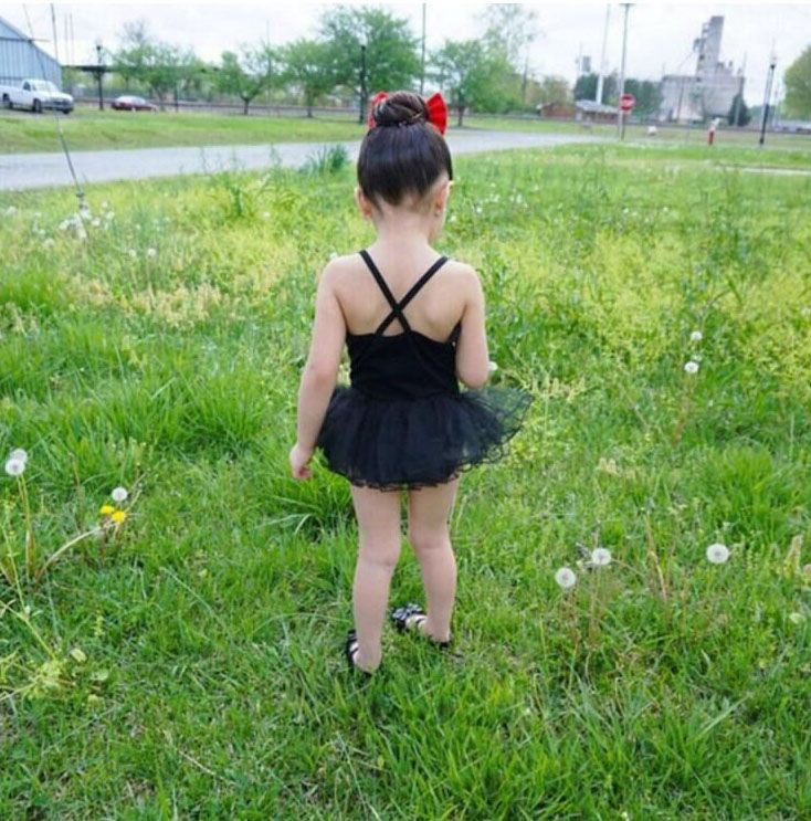 CLEARANCE: Ballet Dress - Black