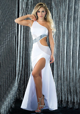 Gown - One-Shoulder Long Gown