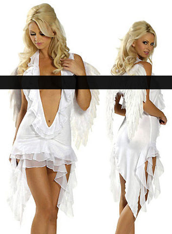 Amazing Heavenly Angel Halter Dress