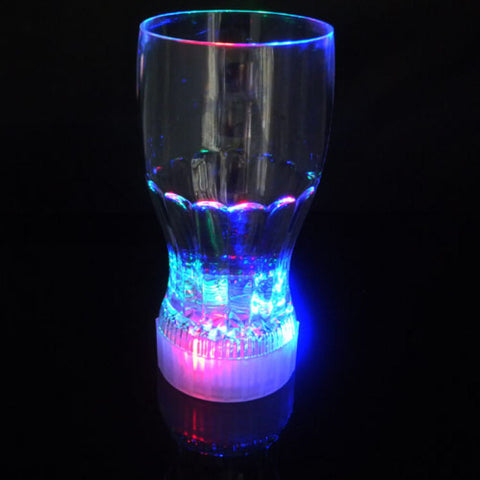CLEARANCE: LED flashing cola glass