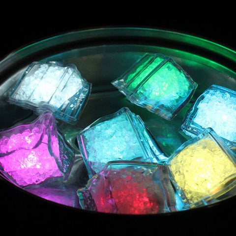 CLEARANCE: LED lighted ice cubes box