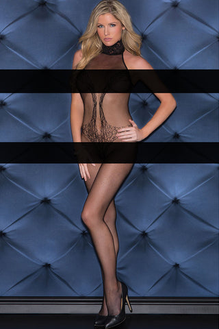 Body stocking - Lacy Vixen Fishnet Body stocking