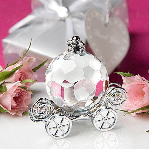 CLEARANCE: Baby Shower Gift Set - Cute crystal cradle