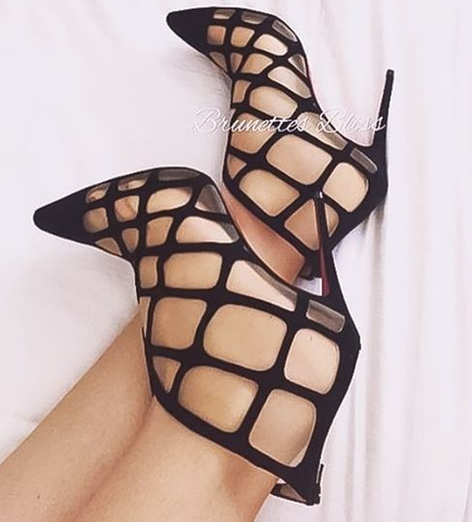 Catwalk elegant Mesh Sandals