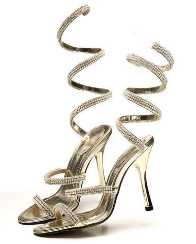 NEW HOT Snake Shoes With High Heels