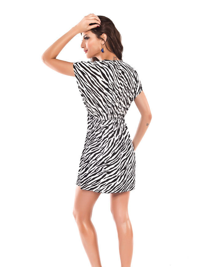 Beach Dress - Zebra Smock Dresses