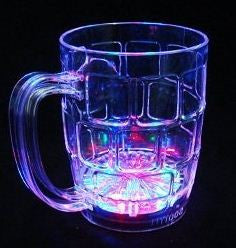 CLEARANCE: LED flashing bear cup