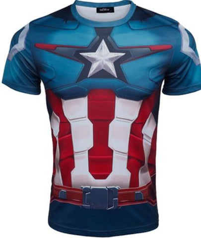 CLEARANCE: Captain America  t-shirt